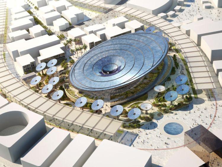 Terra, Expo 2020 Dubai's Sustainability Pavilion is structure ready